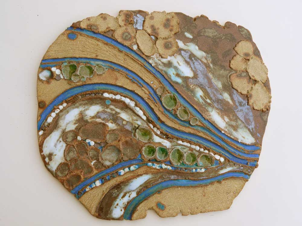 'River 4' by Sally Reayer