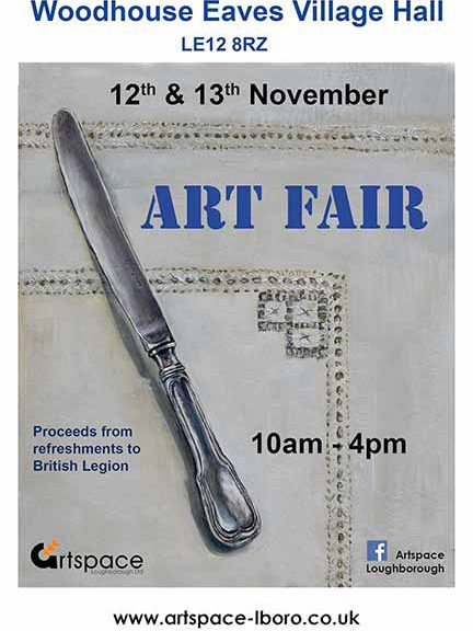 Art Fair Woodhouse Eaves Village Hall